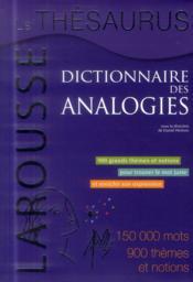 Le Thesaurus ; dictionnaire des analogies - Couverture - Format classique