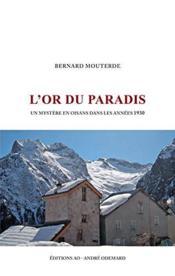 L'or du paradis - Couverture - Format classique