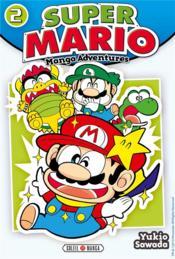 Super Mario ; manga adventures T.2 - Couverture - Format classique