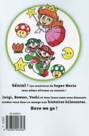 Super Mario ; manga adventures T.2 - 4ème de couverture - Format classique