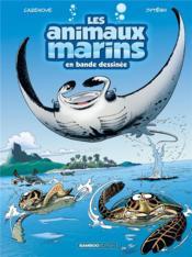Les animaux marins en bande dessinée T.3 - Couverture - Format classique