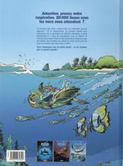Les animaux marins en bande dessinée T.3 - 4ème de couverture - Format classique
