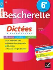 Bescherelle ; dictées ; 6ème - Couverture - Format classique