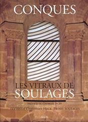 Conques ; les vitraux de Soulages - Intérieur - Format classique