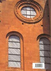 Conques ; les vitraux de Soulages - 4ème de couverture - Format classique