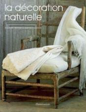 La decoration naturelle - Couverture - Format classique