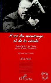 L'Art Du Mensonge Et De La Verite, Orson Welles : Le Proces, Une Histoire Immort - Intérieur - Format classique