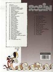 Léonard t.21 ; un air de génie - 4ème de couverture - Format classique