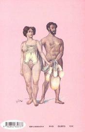 Sexes Sans Paroles - 4ème de couverture - Format classique