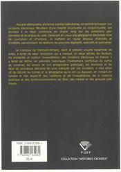 L'Incident Electoral De La Revolution Francaise A La 5eme Republique - 4ème de couverture - Format classique