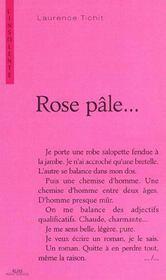 Rose pale - Intérieur - Format classique