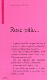 Rose pale - Couverture - Format classique