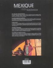 Mexique, L'Empire Des Dieux - 4ème de couverture - Format classique