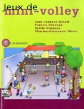Jeux de mini-volley - Couverture - Format classique