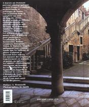 Venise Au Fil Des Pierre Broche - 4ème de couverture - Format classique