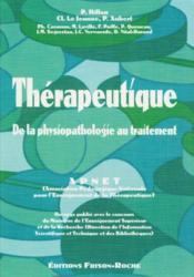 Therapeutique de la physiopathologie - Couverture - Format classique
