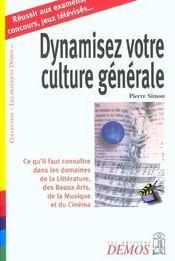Dynamisez Votre Culture Generale - Intérieur - Format classique