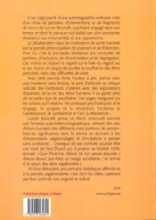 Le miroir ensorcele - 4ème de couverture - Format classique