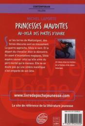 Princesses maudites t.2 ; au-delà des portes d'ivoire - 4ème de couverture - Format classique