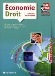 telecharger Economie-droit – 1ere terminale BEP (edition 2011) livre PDF en ligne gratuit