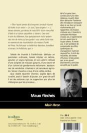 Maux fléchés - 4ème de couverture - Format classique