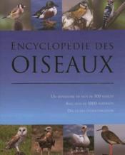 Encyclopédie des oiseaux - Couverture - Format classique