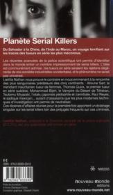 Planète serial killers - 4ème de couverture - Format classique