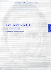 Oeuvre Virale (L') - Couverture - Format classique
