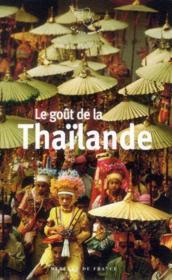 Le goût de la Thaïlande - Couverture - Format classique