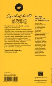 La maison biscornue - 4ème de couverture - Format classique