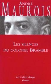 Les silences du colonel Bramble - Intérieur - Format classique
