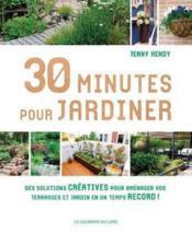 30 minutes pour jardiner - Couverture - Format classique