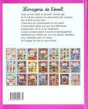 L'Imagerie De L'Eveil - 4ème de couverture - Format classique