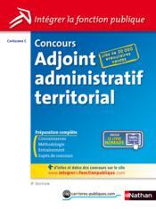 telecharger Concours adjoint administratif territorial – categorie C (edition 2013) livre PDF en ligne gratuit