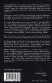 Néo-djihadistes - 4ème de couverture - Format classique