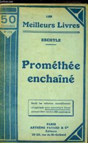 Promethee Enchaine - Couverture - Format classique