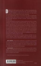Les seigneurs de la terre ; histoire de la colonisation israélienne des territoires occupés - 4ème de couverture - Format classique