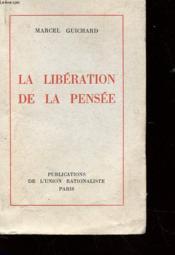 La Liberation De La Pensee - Couverture - Format classique