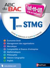 Abc Du Bac Confiance ; Tout-En-Un ; Terminale Stmg - Couverture - Format classique