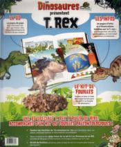 Les dinosaures en bande dessinée ; spécial T.Rex - 4ème de couverture - Format classique