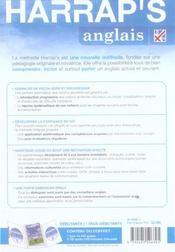Harrap's anglais methode integrale - 4ème de couverture - Format classique