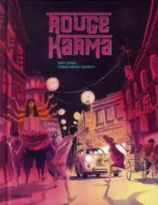 Rouge karma - Couverture - Format classique