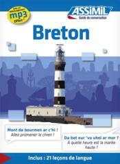 GUIDES DE CONVERSATION ; Breton - Couverture - Format classique