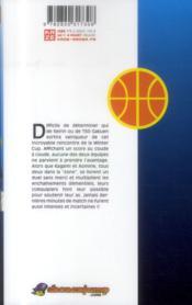 Kuroko's basket T.16 - 4ème de couverture - Format classique