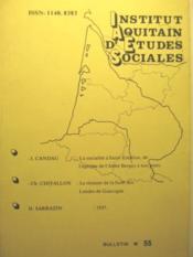 Institut Aquitain d'Etudes Sociales. Bulletin n° 55 (22e année). - Couverture - Format classique