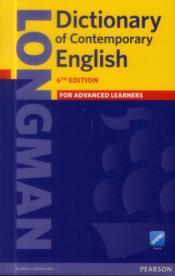 Dictionary of contemporary english 6e - Couverture - Format classique