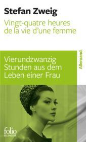 Vingt-quatre heures de la vie d'une femme - Couverture - Format classique