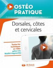 Ostéo pratique T.2 ; dorsales, côtes et cervicales - Couverture - Format classique