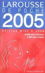 LAROUSSE DE POCHE (édition 2005) - Intérieur - Format classique