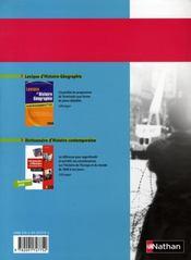 Le quintrec ; histoire ; terminale S ; cd-rom (édition 2008) - 4ème de couverture - Format classique